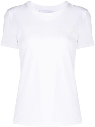 Moschino logo cotton T-shirt