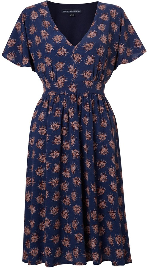 French Connection Precious Palm Dress