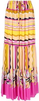 Emilio Pucci Guanabana print maxi skirt