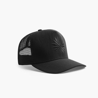 James Perse Nylon Lotus Trucker Hat
