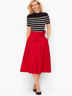 Talbots Poplin Full Skirt