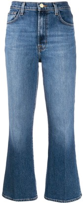 J Brand Julia high-rise kick-flare jeans