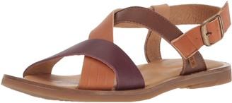 El Naturalista Women's N5181 Dolce Henna Mixed/Tulip Flat Sandal 36 Medium EU (6 US)