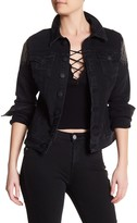 True Religion Gigi Stud Detail Denim Jacket