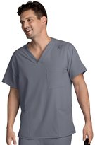 Jockey Classic Fit Collection By Unisex V-Neck Solid Scrub Top