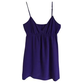 Twelfth St. By Cynthia Vincent Purple Silk Dress for Women