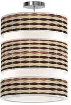 Jefdesigns Weave 4 Triple Tiered Pendant Light