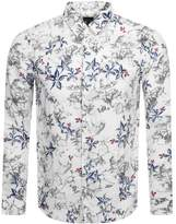 Armani Exchange Long Sleeved Shirt White