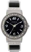 Studio Time Women's Studio Time® Bangle Watch - Black