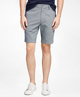 Brooks Brothers Textured Oxford Shorts