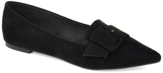 Journee Collection Audrey Buckle Flat
