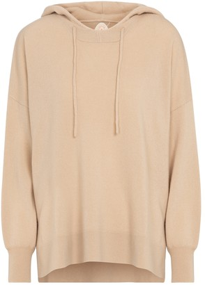 Jardin Des Orangers Oversized wool and cashmere hoodie