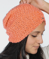 Coral The Lilly Ruched Beanie