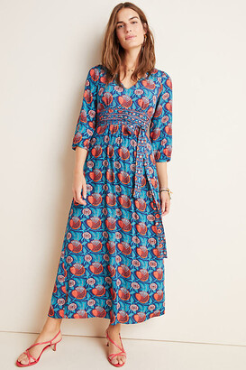 Maeve Philomena Maxi Dress By in Blue Size 2 p