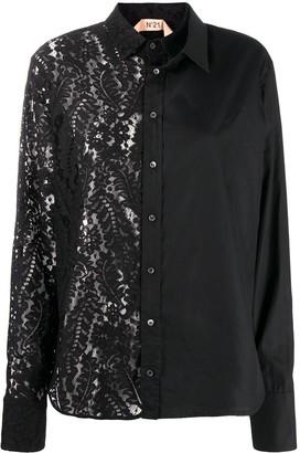 No.21 Layered Lace Shirt