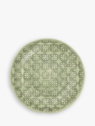 BlissHome Nadiya Hussain Mosaic Side Plate, 21cm, Green
