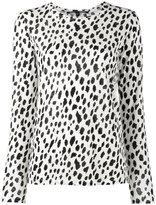 Proenza Schouler leopard print top - women - Cotton - L