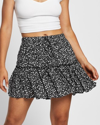 All About Eve Women's Black Mini skirts - Eden Skirt - Size One Size, 12 at The Iconic