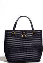 Karen Millen Diamond Detail Mini Bucket Bag