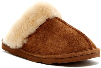 BearPaw Loki II Genuine Sheepskin Fur Lined Slipper
