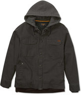Billabong Men's Barlow Coat with Faux-Fur Lining