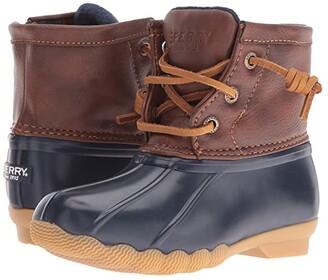 Sperry Kids Saltwater Boot (Toddler/Little Kid) (Brown/Brown) Kids Shoes