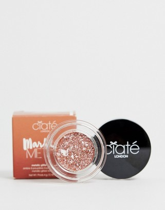 Ciaté London Marbled Metals Metallic Glitter Eyeshadow - Gilded