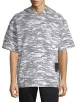 Puma XO Camouflage Short-Sleeve Hoodie