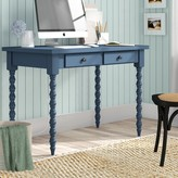 Beachcrest Home Andrey Desk Color: Heritage Blue