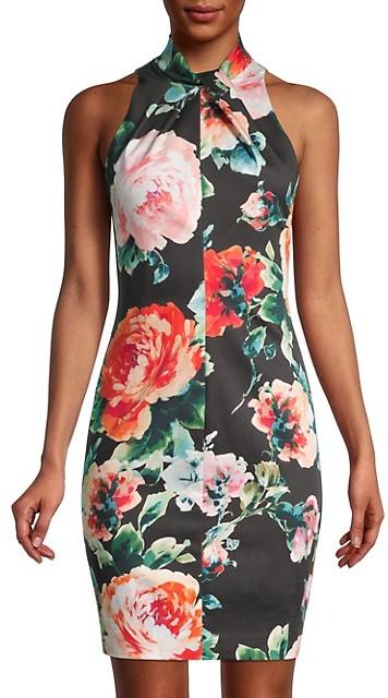 Thumbnail for your product : Black Halo Zana Floral Sheath Dress