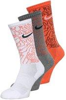 Nike Performance 3 Pack Sports Socks Charcoal Heather/black Heather
