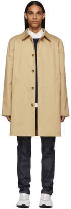 A.P.C. Beige Urban Mac Coat