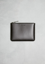 Comme des Garcons very black zip pouch