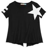 Vintage Havana Girls' Stripe & Star Tee - Big Kid