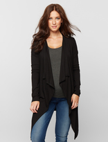 A Pea in the Pod Isabella Oliver Long Sleeve Drape Maternity Cardigan