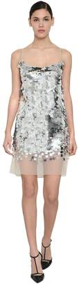 Ermanno Scervino Sequined Mini Dress