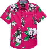 Vans Tropical Floral Button-Up Shirt
