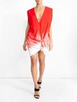 Thumbnail for your product : CARMEN MARCH Gradient Knot Blouse Dress
