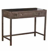 Rejuvenation Raw Steel Vanity Desk by Simmons c1935