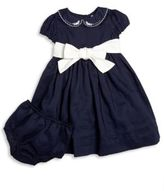 Ralph Lauren Baby's Two-Piece Collared Fit-&-Flare Dress & Bloomers Set