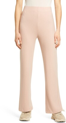 Reformation Cirrus Crop Straight Leg Knit Pants