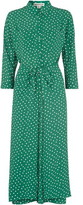 Whistles Abstract Spot Selma Tie Dress