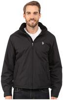 U.S. Polo Assn. Mock Neck Jacket Polar Fleece Lined
