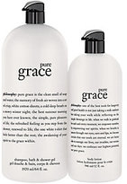 philosophy Pure Grace Mega-Size Shower Gel & Body Lotion Duo