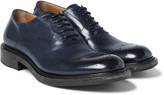 O'keeffe - Polished-leather Derby Shoes