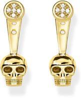Thomas Sabo Rebel at heart Skull Diamond Ear Jackets