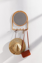 Urban Outfitters Ramis Storage Mirror Multi-Hook
