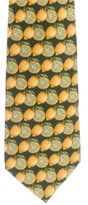 Gucci Silk Lemon Print Tie