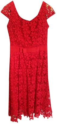 Collette Dinnigan Red Lace Dress for Women