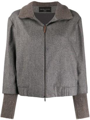 Fabiana Filippi Sequined High-Neck Jacket